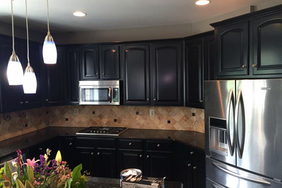 Kitchen Cabinet Refinishing George Schneider Painting Contractor - Kitchen cabinet painting contractors
