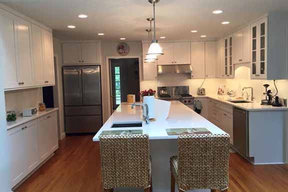 Refurbished kitchen Horsham PA.